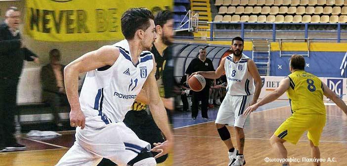 Συνεχίζουν και τη νέα χρονιά στον Παπάγου οι Κ. Φακοπουλίδης και Κ. Δέδες