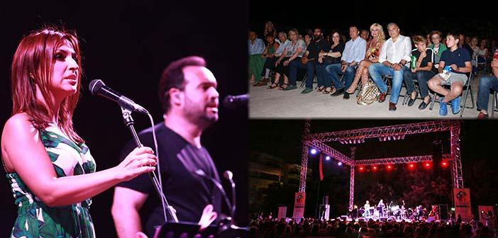 Τραγούδια του Μίκη Θεοδωράκη απόλαυσε το κοινό του Φεστιβάλ Αμαρουσίου