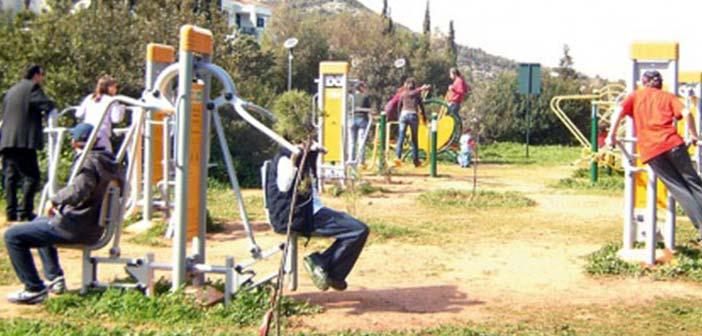 Γυμναστική στο ύπαιθρο στον Δήμο Φιλοθέης – Ψυχικού