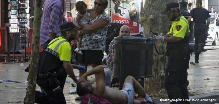 Βαρκελώνη: Αναφορές για τουλάχιστον 13 νεκρούς