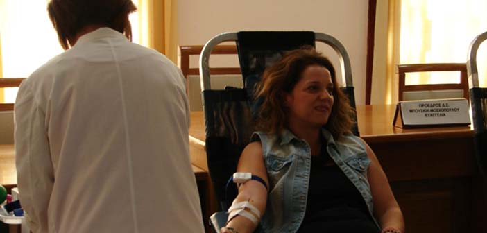Εθελοντική αιμοδοσία στον Δήμο Πεντέλης στις 17 Οκτωβρίου