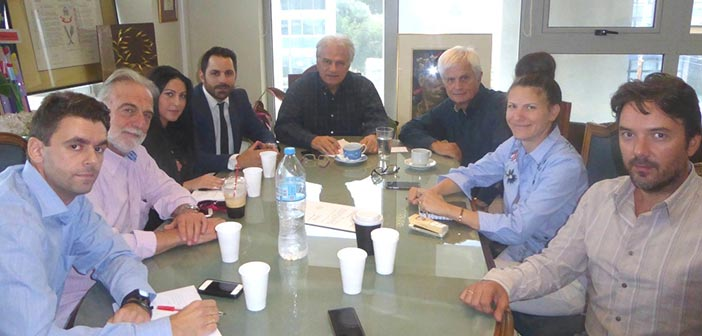 Συνάντηση Γ. Σταθόπουλου – Αλ. Μουστόγιαννη