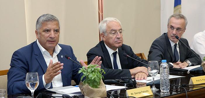 Γ. Πατούλης: Χρέος μας ν' αναδείξουμε την Ελλάδα σε χώρα πολιτισμού για όλη την οικουμένη