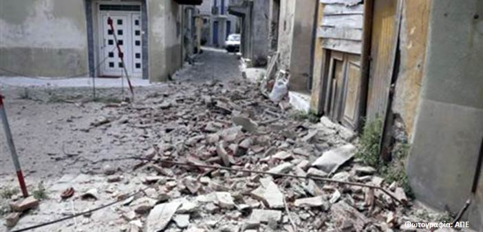Σεισμική δόνηση 4,1 ρίχτερ στη Μυτιλήνη