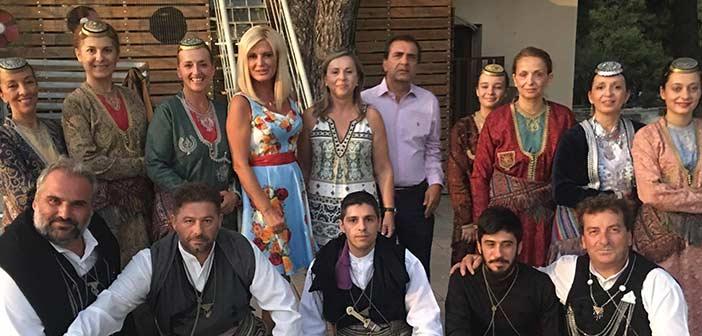 Η Μ. Πατούλη σε εκδήλωση του Συλλόγου «Πευκιώτικες Ρίζες»
