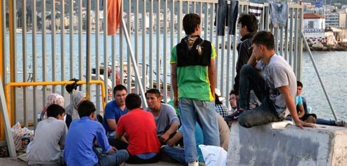 Εκρηκτική ξανά η κατάσταση στη Λέσβο – Στους 6.000 οι μετανάστες