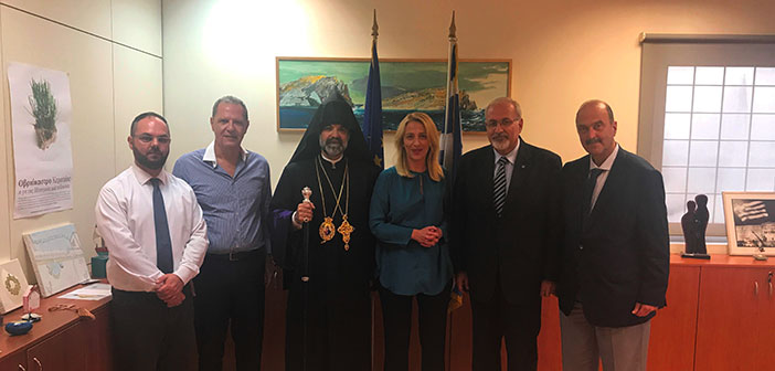 Συνάντηση Ρ. Δούρου με το νέο Συμβούλιο της Αρμενικής Κοινότητας της Ελλάδας