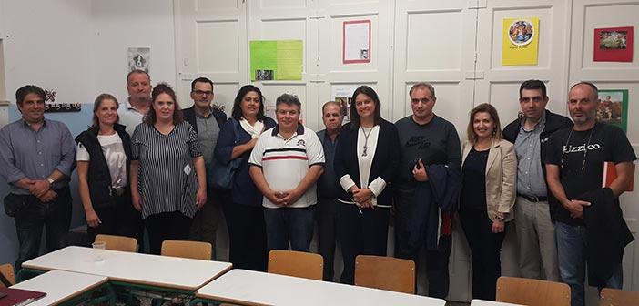 Συνάντηση Ένωσης Γονέων Πεύκης-Λυκόβρυσης με την τομεάρχη Παιδείας της Ν.Δ.