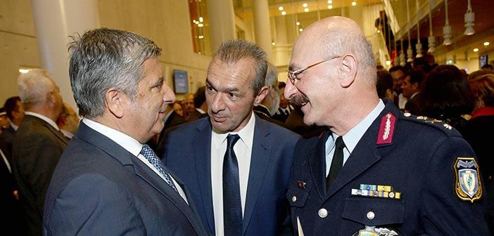 Στην τελετή εορτασμού της ημέρας της Ελληνικής Αστυνομίας ο πρόεδρος της ΚΕΔΕ
