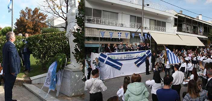 Ο πρόεδρος του ΣΠΑΠ στον εορτασμό της 28ης Οκτωβρίου σε Πεντέλη & Ν. Πεντέλη