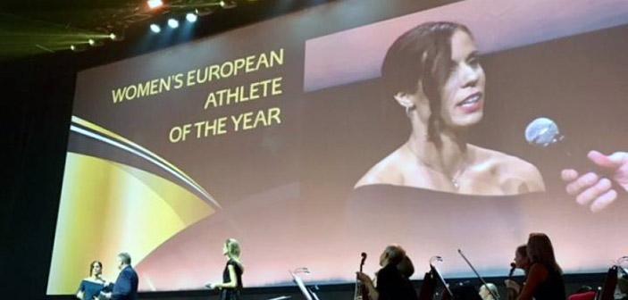 Αθλήτρια της χρονιάς στην Ευρώπη η Κατερίνα Στεφανίδη του Α.Ο. Φιλοθέης