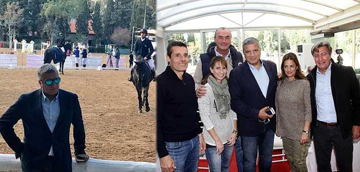 Τον αγώνα ΕΙΟ Grand Prix 2017 παρακολούθησε ο δήμαρχος Αμαρουσίου