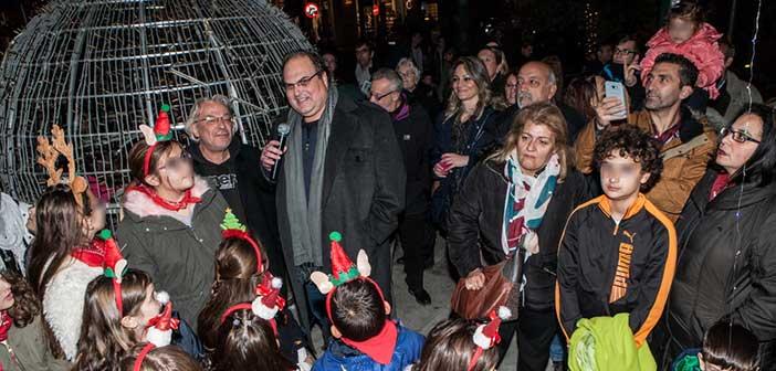 Ξεκίνησαν οι Χριστουγεννιάτικες εκδηλώσεις στο Χαλάνδρι