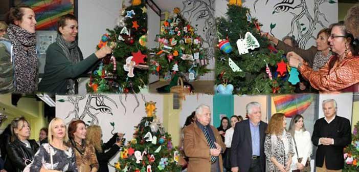 Το «Κέντρο Γυναίκας» Αγίας Παρασκευής στόλισε το δένδρο του