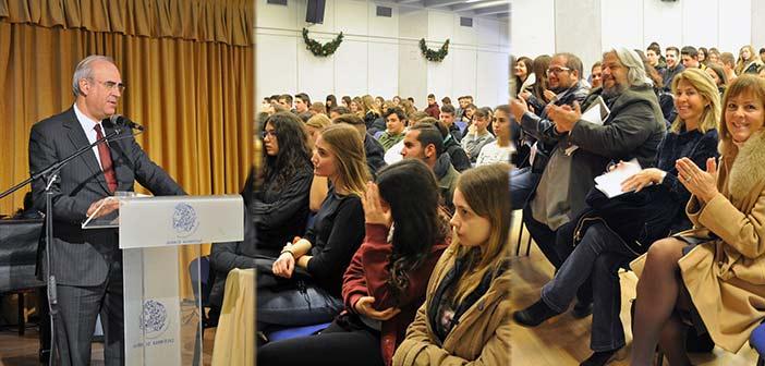 Ο Δήμος Κηφισιάς ωθεί και στηρίζει τη μαθητική νεολαία να επιχειρήσει