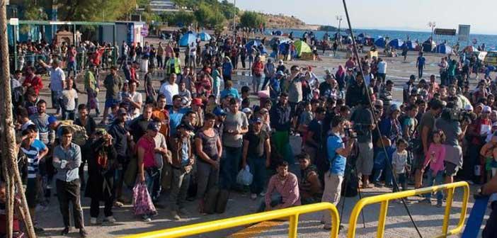 Σε εξέλιξη το σχέδιο αποσυμφόρησης της Λέσβου από πρόσφυγες & μετανάστες