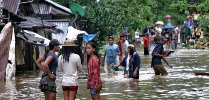 Φιλιππίνες: Τουλάχιστον 43 νεκροί και 45 αγνοούμενοι από το πέρασμα τροπικής καταιγίδας