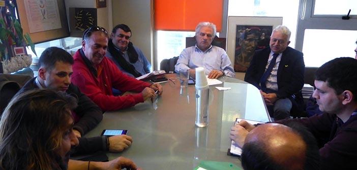 Σύσκεψη φορέων Δήμου Αγ. Παρασκευής για εφαρμογή του αντικαπνιστικού νόμου
