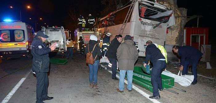 11 νεκροί και 46 τραυματίες σε δυστύχημα με λεωφορείο στην Τουρκία