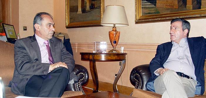 Συνάντηση προέδρου ΠΕΔΑ με τον δήμαρχο Αθηναίων