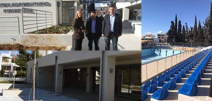 Το έργο στο Ο.Τ. 9 της Λυκόβρυσης επισκέφθηκαν Ρ. Δούρου και Γ. Καραμέρος