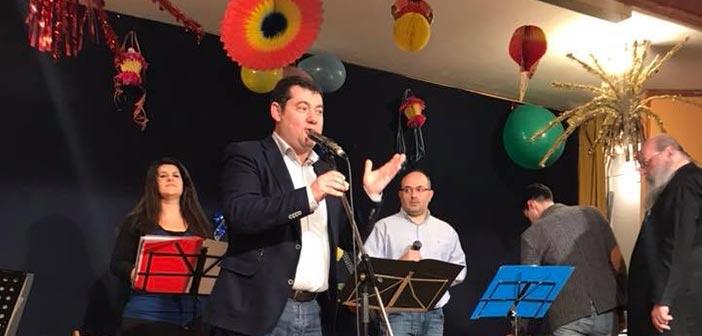 Σε εκδήλωση του Ι.Ν. Αγ. Αποστόλων Πέτρου & Παύλου Πεύκης ο δήμαρχος