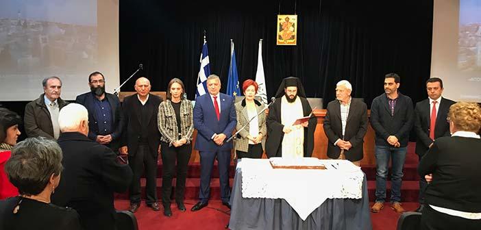 Την πρωτοχρονιάτικη πίτα του Πολιτιστικού Συλλόγου Αμαρουσίου έκοψε ο Γ. Πατούλης