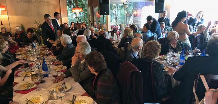 Στην πρωτοχρονιάτικη πίτα της Ένωσης Πελοποννησίων ο δήμαρχος Αμαρουσίου