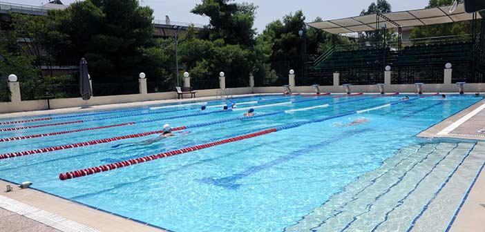 Σε εξέλιξη η επιδιόρθωση της βλάβης στο δημοτικό κολυμβητήριο Πεύκης