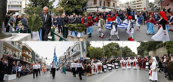 Ο Δήμος Κηφισιάς τίμησε την 197η επέτειο της 25ης Μαρτίου 1821