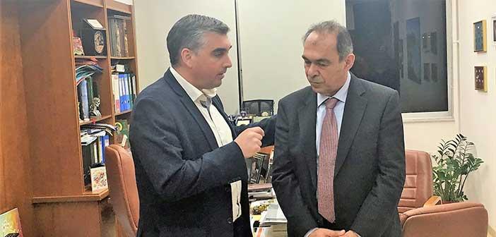 Συνάντηση προέδρου ΠΕΔΑ – δημάρχου Ελληνικού – Αργυρούπολης