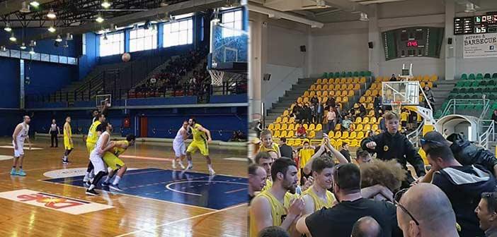Μεγάλες νίκες για Χολαργό και Μαρούσι στην 21η αγωνιστική της Α2 μπάσκετ Ανδρών