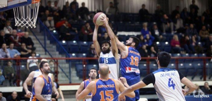 Επιβλητικό «διπλό» του ΑΣΕ Δούκα επί της Α.Ε. Λάρισας στην Α2 μπάσκετ Ανδρών