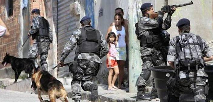 Βραζιλία: Το 92% των κατοίκων του Ρίο ντε Τζανέιρο φοβούνται για τη ζωή τους