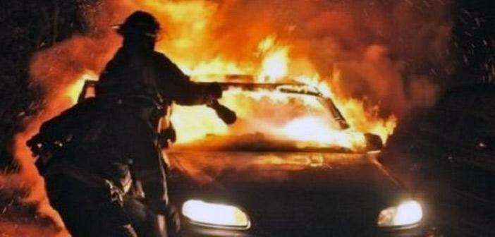 Φωτιά σε Ι.Χ. επιβατικό αυτοκίνητο στη συμβολή των οδών Ναυπλίου και Σωρού