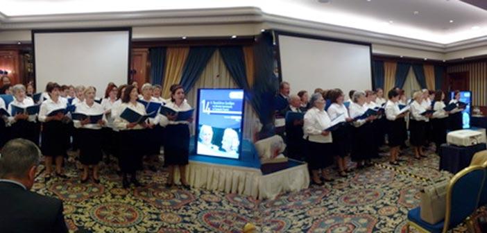 Στο Συνέδριο Γεροντολογίας η Μικτή Χορωδία 60+ Δήμου Χαλανδρίου