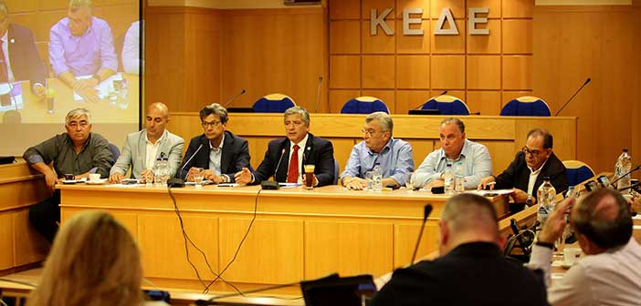 Γ. Πατούλης: H KEΔΕ αναλαμβάνει πρωτοβουλίες για να μην αυξηθεί ο ΦΠΑ στα νησιά