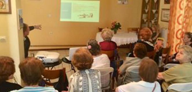 Ομιλία «Οστεοπόρωση & εμμηνόπαυση» από το ΚΕΠ Υγείας Δήμου Αγ. Παρασκευής