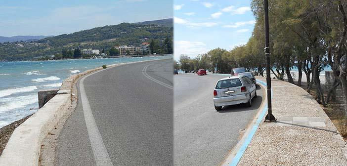 Νέος πεζόδρομος στην παραλιακή οδό Ν. Παλατίων – Μαρκοπούλου στον Δήμο Ωρωπού