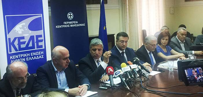 Γ. Πατούλης: Η Αυτοδιοίκηση βγαίνει μπροστά για να ανατραπεί η απόφαση για το Μακεδονικό