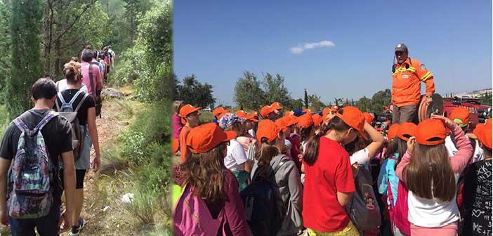 Συμμετοχή μαθητών Παπάγου και Χολαργού σε δράσεις περιβαλλοντικής ευαισθητοποίησης