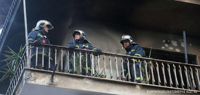 Υπό έλεγχο πυρκαγιά σε διαμέρισμα στον Δήμο Παπάγου Χολαργού