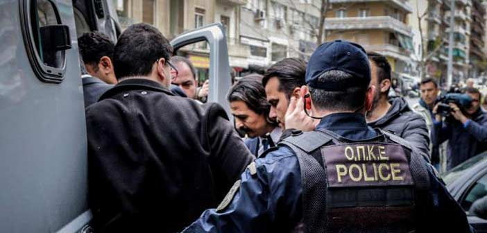 Ελεύθεροι και οι τελευταίοι τέσσερις Τούρκοι αξιωματικοί