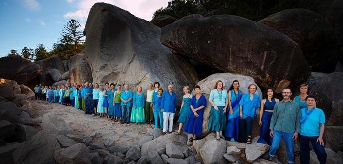 Η αυστραλιανή χορωδία «Aquapella World Music Choir» στην Κηφισιά