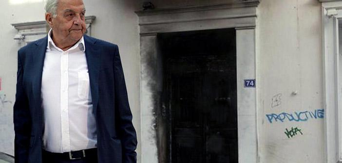 Νέα απόπειρα επίθεσης στο σπίτι του Αλέκου Φλαμπουράρη – Τους απώθησαν τα ΜΑΤ