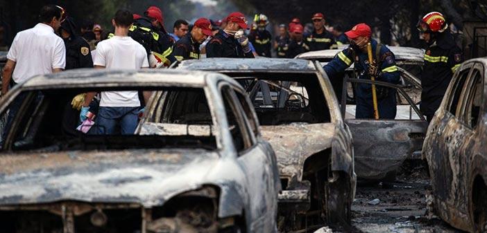 Διευκρινίσεις για τον αριθμό των αγνοούμενων και των νεκρών από την Πυροσβεστική
