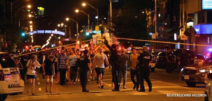 Τορόντο: Τρεις νεκροί και 12 τραυματίες από την επίθεση