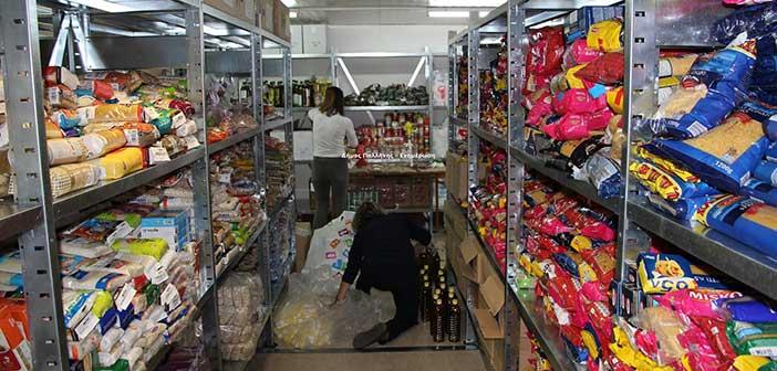 Συγκέντρωση τροφίμων και ειδών πρώτης ανάγκης από τον Δήμο Παλλήνης