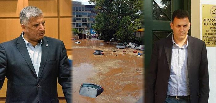 Δήμος: Αποκλειστικά υπεύθυνη η Περιφέρεια Αττικής για τη σημερινή πλημμύρα στο Μαρούσι