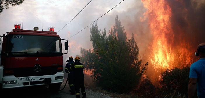 Η επίσημη ενημέρωση της Πυροσβεστικής Υπηρεσίας για τα πύρινα μέτωπα στη χώρα